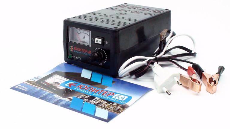 Зарядное устройство 6-12 вольт Юпитер-М (6 Ампер)