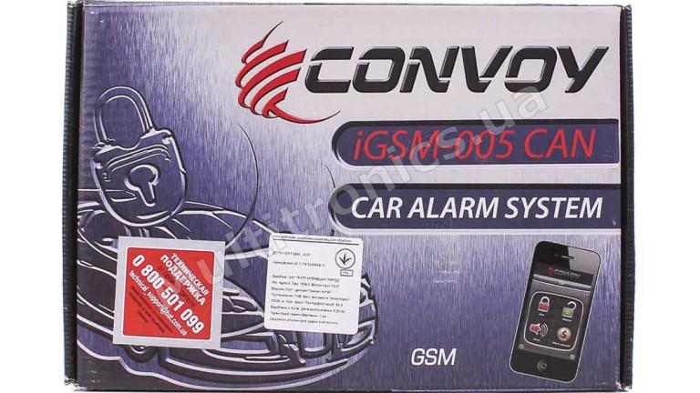 Автосигнализация с автозапуском Convoy iGSM-005 CAN Ready