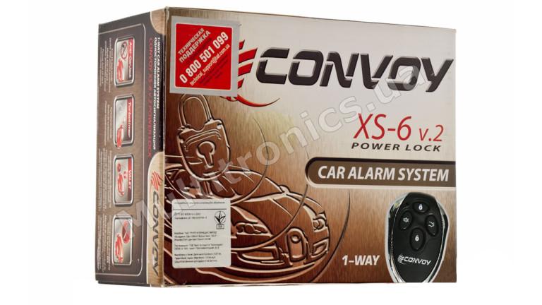 Автосигнализация односторонняя Convoy XS-6 v.2