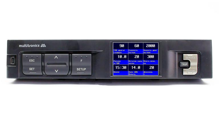 Бортовой компьютер Multitronics C340 на ВАЗ Самара-2