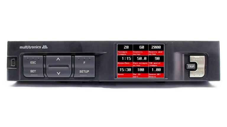 Бортовой компьютер Multitronics C350 на ВАЗ / Lada