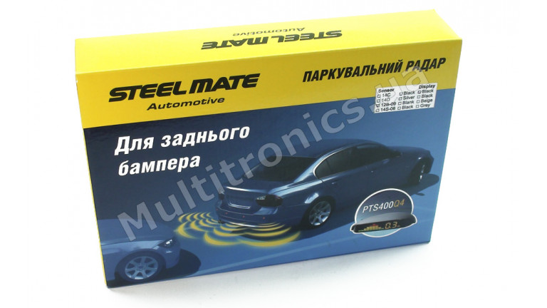 Парктроник SteelMate PTS400Q4B