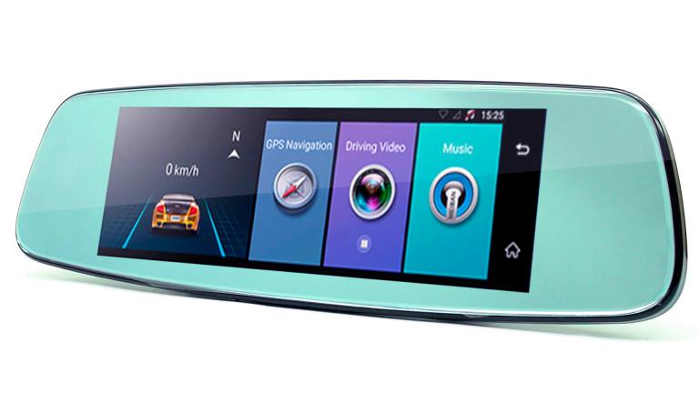 Видеорегистратор зеркало Phisung E06 4G Android 5.1