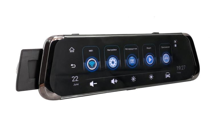 Видеорегистратор зеркало Phisung E08 Plus 4G Android
