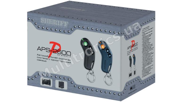 Автосигнализация односторонняя Sheriff APS-2600 Ver.2