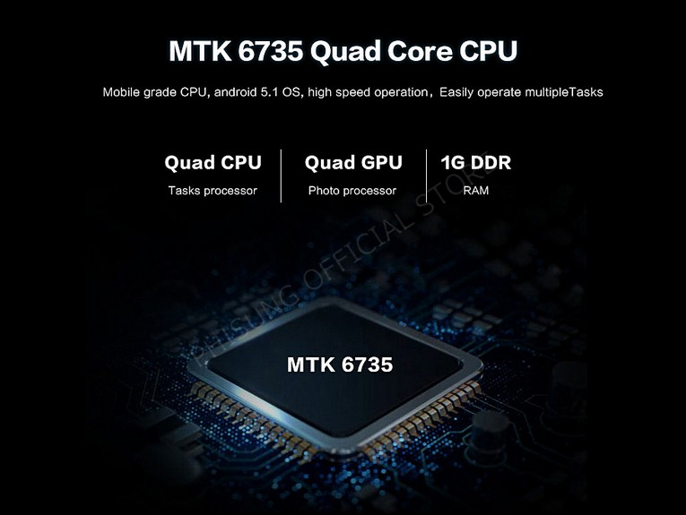Процессор MTK6735 Quad Core CPU